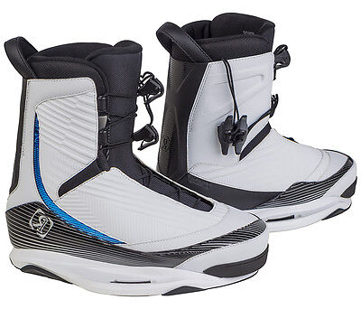 RONIX ONE Boots 2016 throwback white Wakeboard Bindung