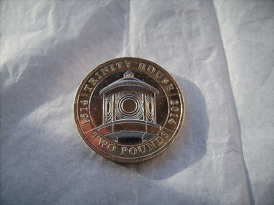 2014 - Two Pounds Coin - Trinity House