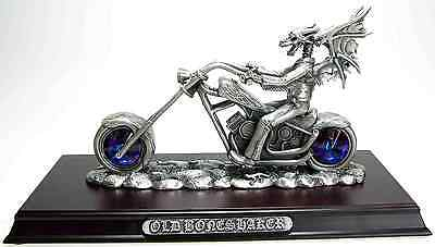 TUDOR MINT MYTH & MAGIC BIKER FIGURE - OLD BONESHAKER #3667 New In Box