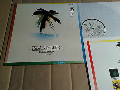 V/a - Island Life - Media Sampler - October / November Releases - Lp - Promo