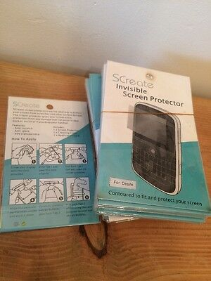 Joblot Of 57 Blackberry Desire Indivisible Screen Protectors By Screate