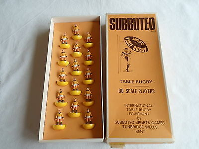 Subbuteo Table Top Rugby Team Castleford R11 15 Players Boxed