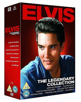 Elvis Presley - The Legendary Collection (7 Movie Box Set)Brand New & Sealed