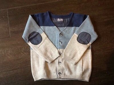 Florence And Fred Boys Cardigan 9-12 Months