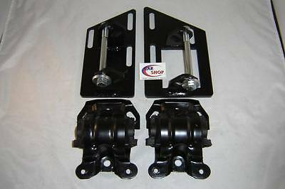 S10 S15 Blazer SBC V8 2 Wheel Drive Swap Motor Mounts with Rubber Frame Mounts