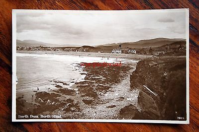 Posted 1931 Photo  Postcard Rp Wales Borth From Borth Head