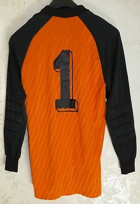 Rare Maglia Jersey Shirt Calcio Football Portiere Goalkeeper N°1 D7/8 Old Erima