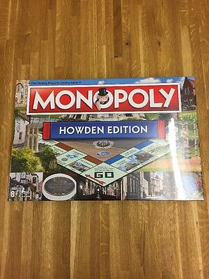 Extremely Rare Special Edition Monopoly 'Howden Edition' Board Game Set
