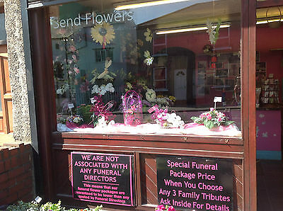 Established Florist Business For Sale Wn7 Postcode - Leasehold