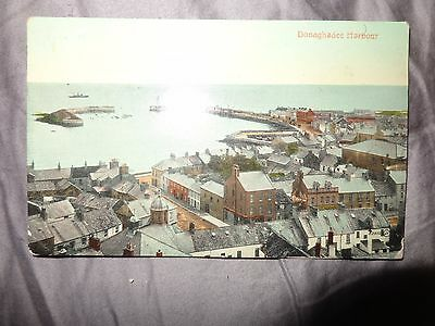 Harbour Donaghadee County Down Northern Ireland Valentines  Postcard 1922 N/S