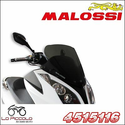4515116 Cupolino MALOSSI SPORT SCREEN fumé scuro KYMCO DOWNTOWN 200 ie 4T LC