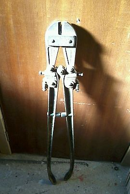 Record 604A Bolt Cutters Croppers No.604 Vintage