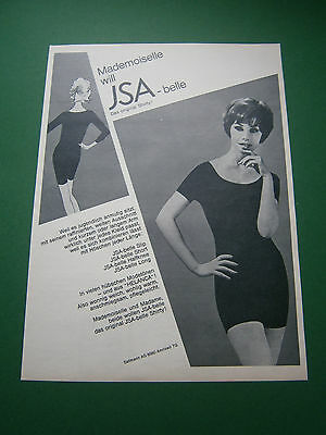 Werbung 1964 Swiss Lingerie ISA-belle Helanca Shirty + Panty warm sexy Lady