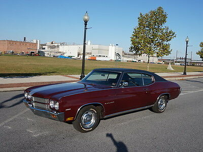 1970 Chevrolet Chevelle  1970 Chevy Chevelle Malibu Coupe, 350 Automatic Original A/C Family Owned
