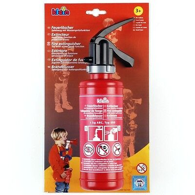 New Theo Klein Toys Fire Extinguisher Water Pistol - Age 3+ FREE UK DELIVERY