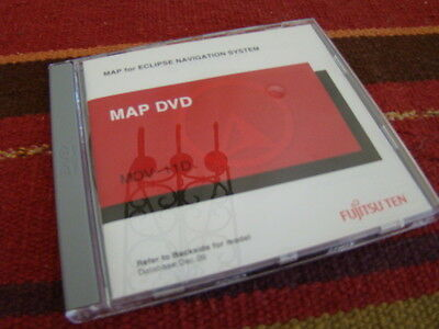 ECLIPSE AVN-2454 MDV-11D DVD MAP DISC 2011 Used but in excellent condition