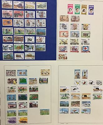 Tanzania Selection 1984/1990 Lot Of 86 Used Stamps Also Rare Splendid