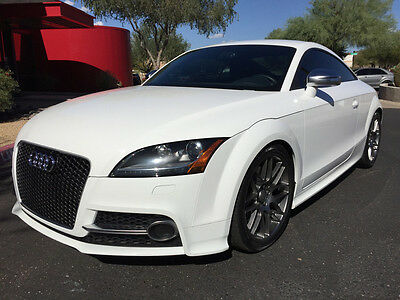 2011 Audi TT TTS Coupe Navigation Heated Seats Ibis White Loaded TT RS Grill Upgraded 2010 2012 TT S