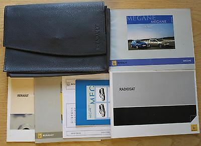 Renault Megane Ii Owners Manual Handbook Wallet 2006-2008 Pack 11766