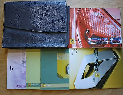 Renault Scenic Ii Owners Manual Handbook Wallet 2003-2005 Pack 8347