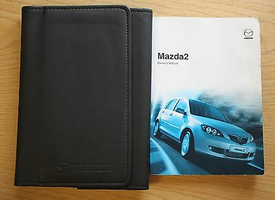 Mazda 2 Handbook Owners Manual Wallet 2003-2007 Pack 9006