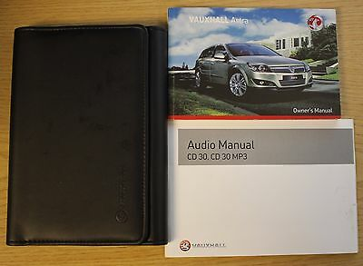 Vauxhall Astra Owners Manual Handbook Wallet 2004-2010 Pack 9971