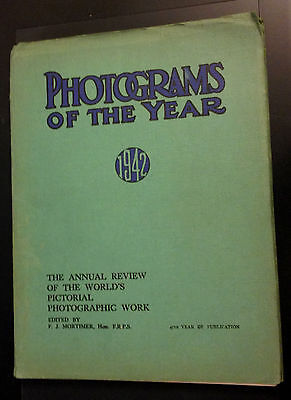 Photograms of the Year - 1942 Card cover