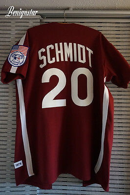 Mitchell & Ness Mike Schmidt Replica 1979 Road Jersey