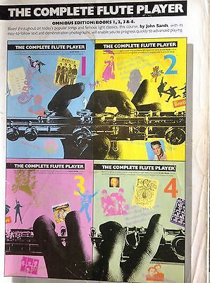 The Complete Flute Player, Omnibus Edition, 1,2,3 & 4.