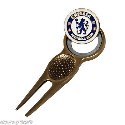 Chelsea Fc Divot Tool And Magnetic Golf Ball Marker
