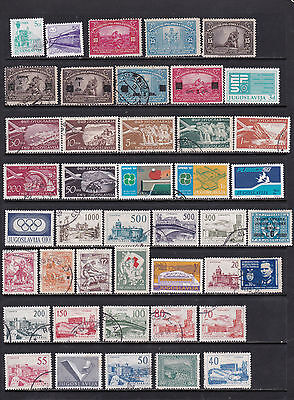 Yugoslavia - Wide Ranging Selection with Good Pictorials  - 2 SCANS (Yug01122)