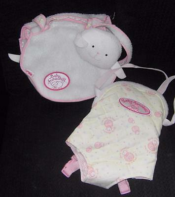 Zapf Creation Baby Annabell Doll Carrier & Changing Bag