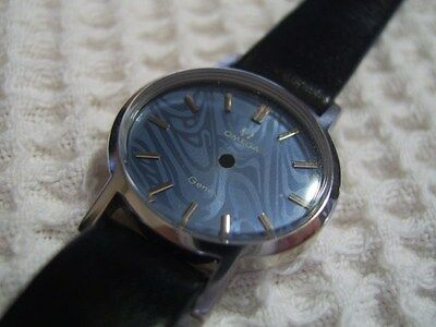 Nos Omega Geneve Ladies Complete Case Crystal Dial Strap & Buckle          #6278