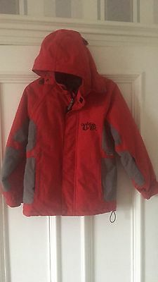Quicksilver Jacket Age 10 Years Red N Black