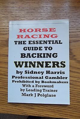 horse racing book the essential guide to backing winners by a pro gambler
