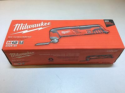 (Closeout) Milwaukee 2426-20 M12 12V Lithium-Ion Cordless Multi-Tool (Tool-Only)