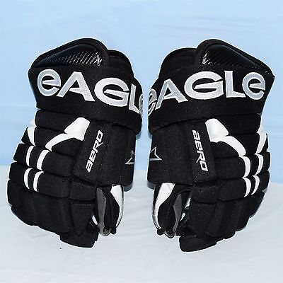 Eagle Aero PPF Hockey Gloves Black/White Pro Style 14""