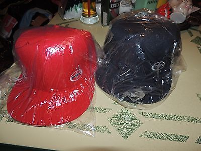 2 Car Show Hats Scion Red And Black