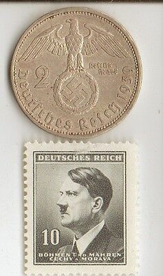 """-*WW2 -  """"SILVER"""" - *us  and *german   coins/STAMPS  +  *free..."""