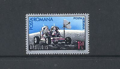 Romania 1971 SG 3833 Space Apollo 15  MNH