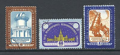 Russia 1958 SG 2232-4 Space Astronomical Congress  CTO