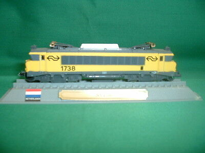 Del Prado Locomotives Of The World Dutch Ns 1700 Electric Loco In V.g.c.