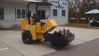 2007 Padfoot Roller Stone Rhino PD54 Compactor Vibratory Low Actual Hours 115.5