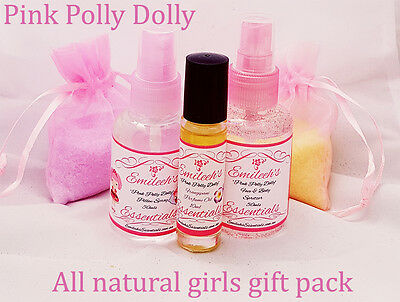Girls Gift Set - All natural perfume, body spray, pillow spray