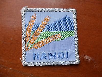 Namoi District Australia Scout Cloth Badge #