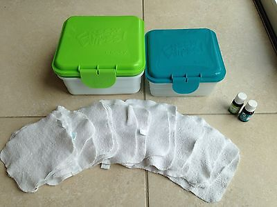 Cheeky Baby Wipes Washable Wipes Kit White