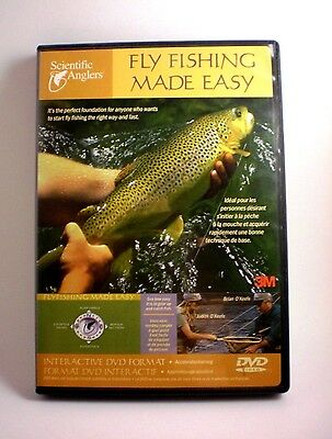 Fly Fishing Made Easy - Beginners Instructional Dvd By Scientific Anglers