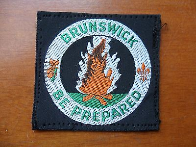 Brunswick District Australia Scout Cloth Badge #
