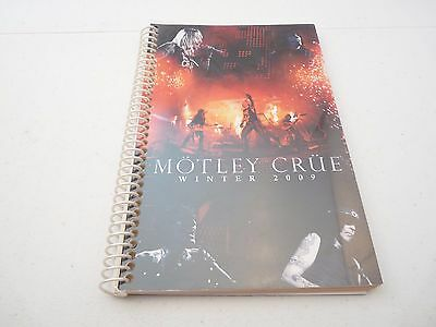 Motley Crue 2009 Saints Of Los Angeles Winter Concert Tour Itinerary Book