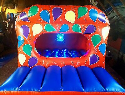 NEW DISCO TODDLER UNIT/BALL PIT PARTY  THEME Bouncy castle